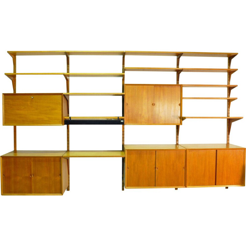 Vintage scandinavian wall shelves by Poul Cadovius 1960