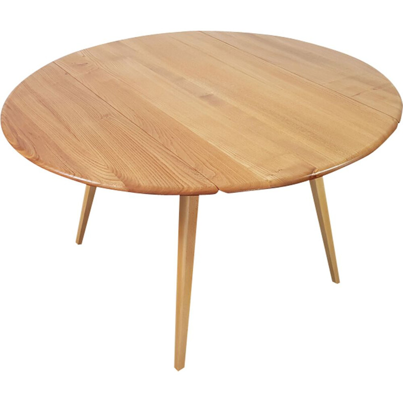 Vintage beech coffee table by Lucian Ercolani for Ercol