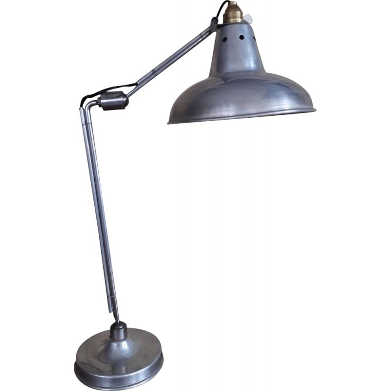 Vintage table lamp by Institutions Houillon