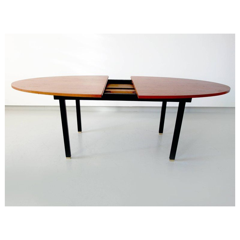 Vintage Extendable Oval Dining Table Design Market