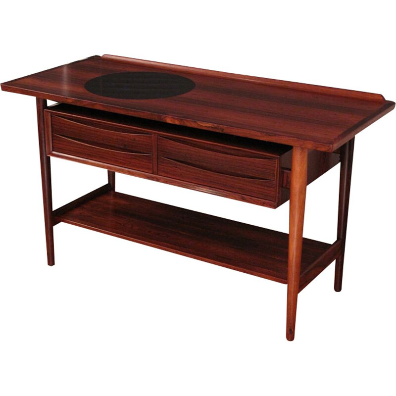Vintage console in Rosewood by Arne Vodder for Sibast