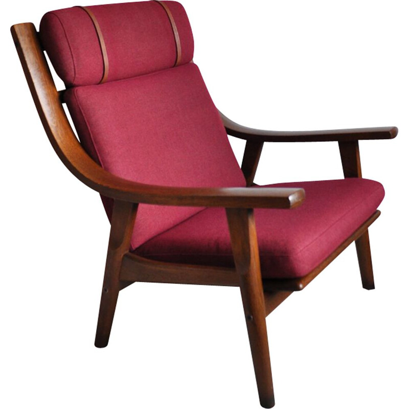 Vintage GE-530 lounge chair by Hans J. Wegner