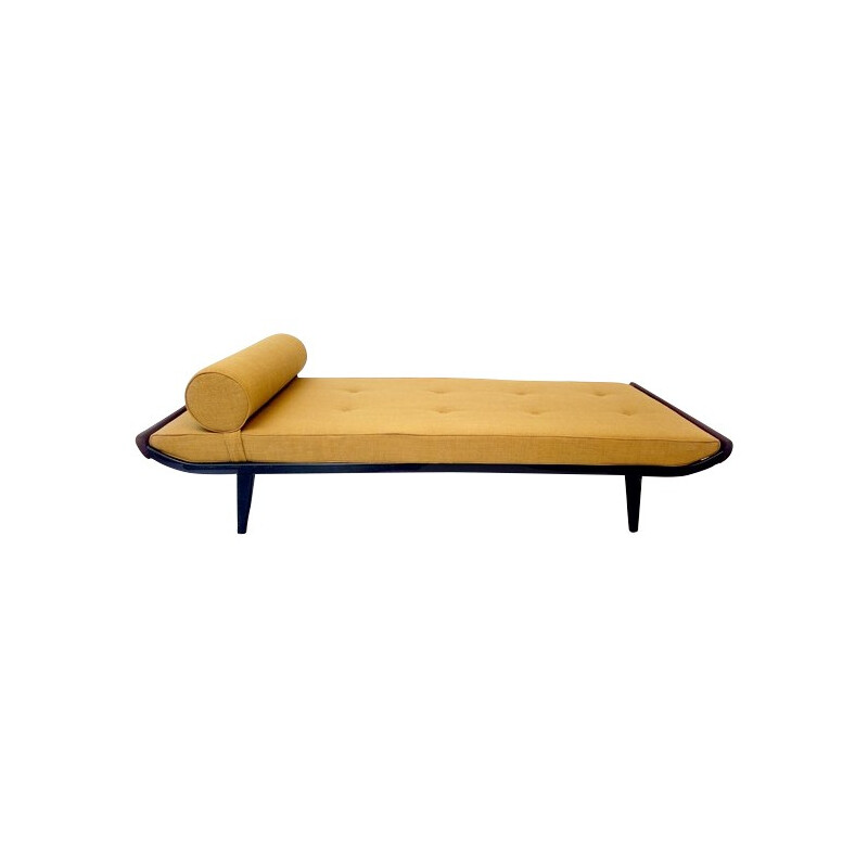 Cleopatra daybed in metal, teak and fabric, Dick CORDEMEIJER - 1954