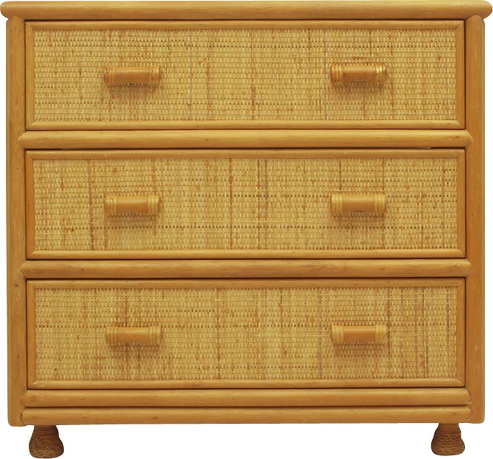 Vintage Spanish Rattan And Bamboo Chest Of Drawers Design Market