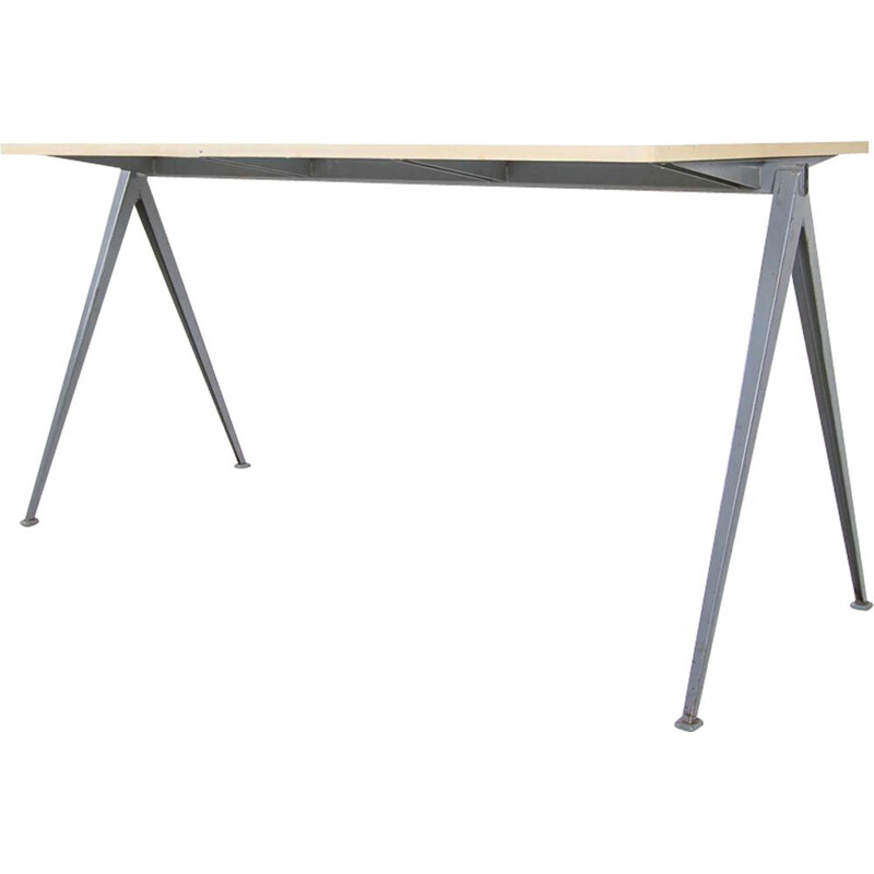 Vintage pyramid table by Wim Rietveld