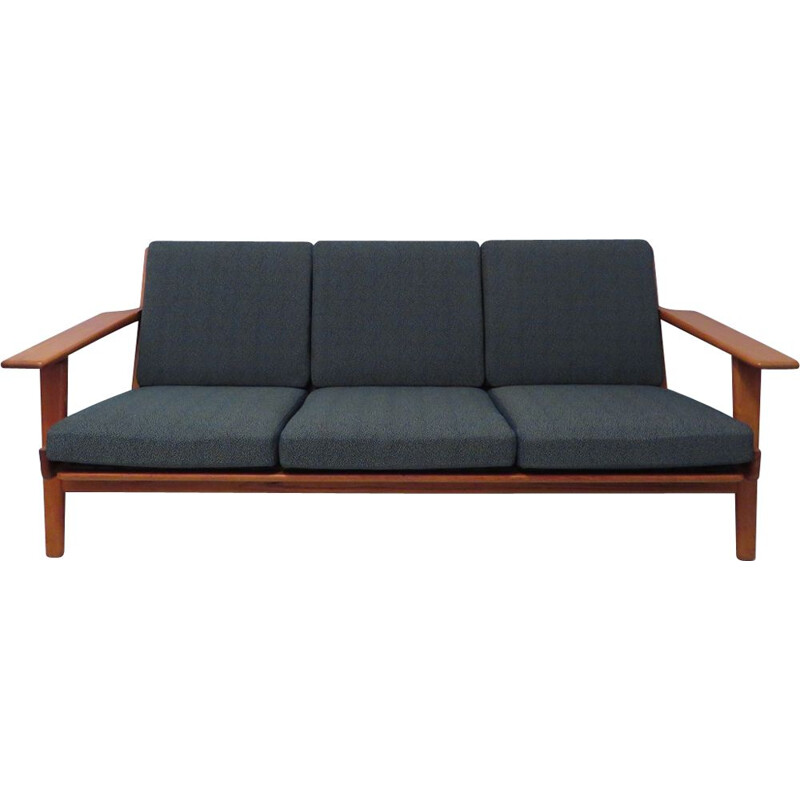 Vintage 3 seater sofa GE 290 by Hans Wegner for Getama