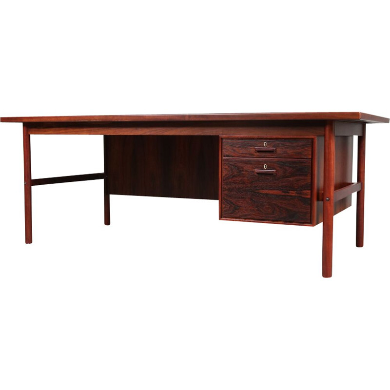 Vintage Danish desk by Arne Vodder for Sibast