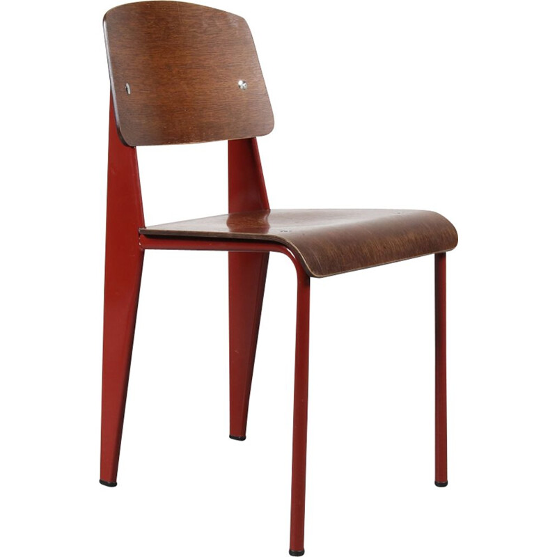 Vintage standard chair by Jean Prouvé for Vitra
