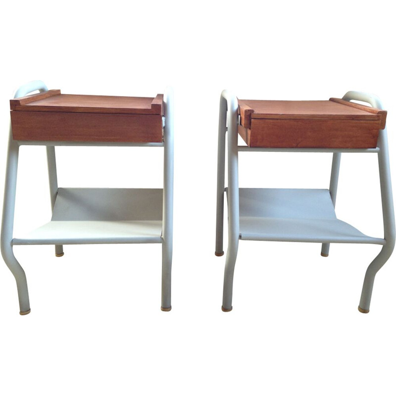 Pair of nightstands Tubauto 1960s
