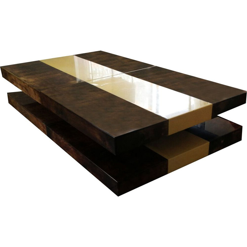 Vintage coffee table by Aldo Tura