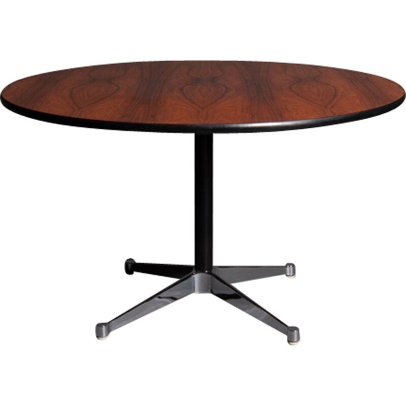 Vintage table in rosewood by Eames for Herman Miller