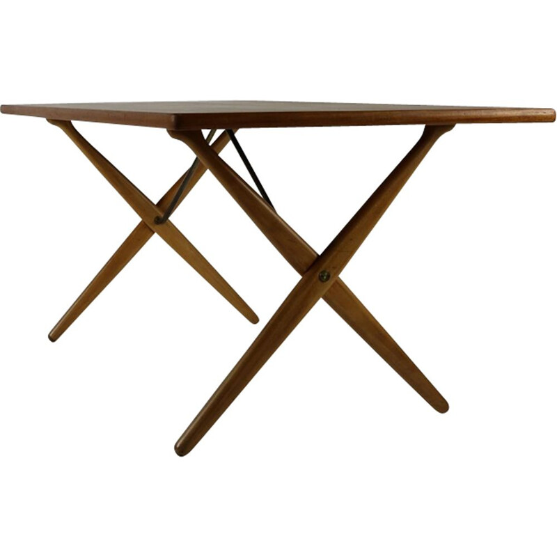 Vintage Danish dining table by Hans Wegner for Andreas Tuck