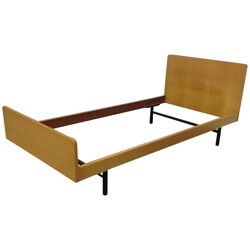 Daybed in ashwood and metal, ARP (Motte, Mortier, Guariche) - 1960s