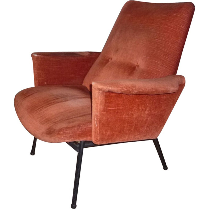 Vintage armchair SK660 by Pierre Guariche for Steiner
