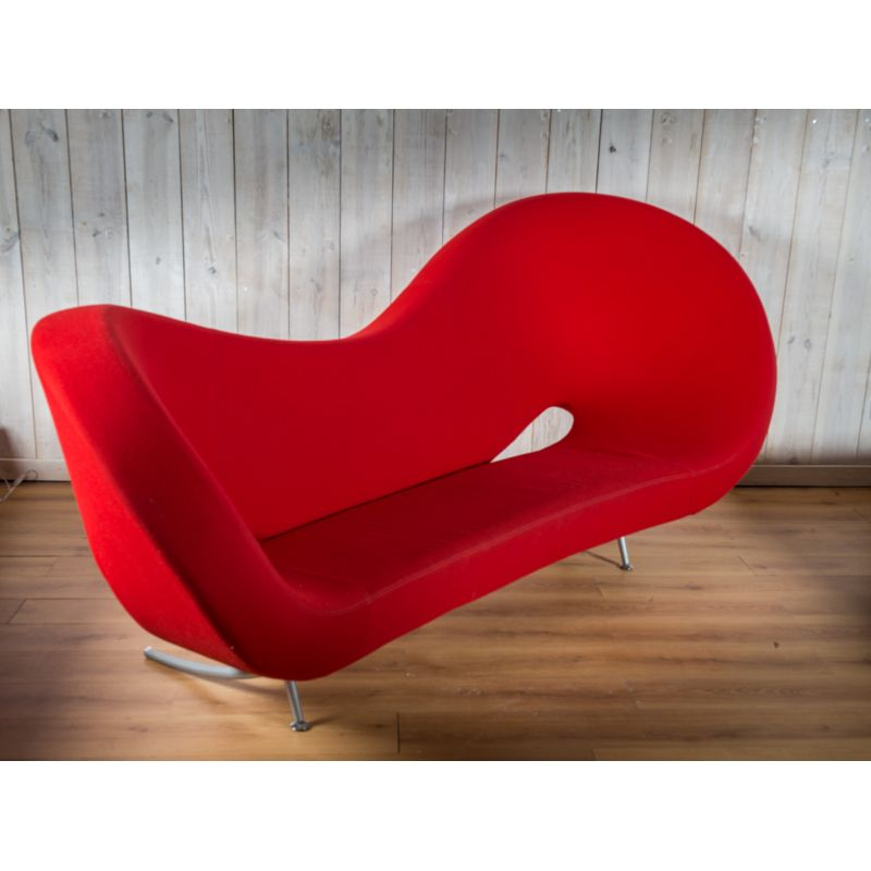 Remarkable Vintage Red Sofa Victoria And Albert By Ron Arad For Moroso Bralicious Painted Fabric Chair Ideas Braliciousco