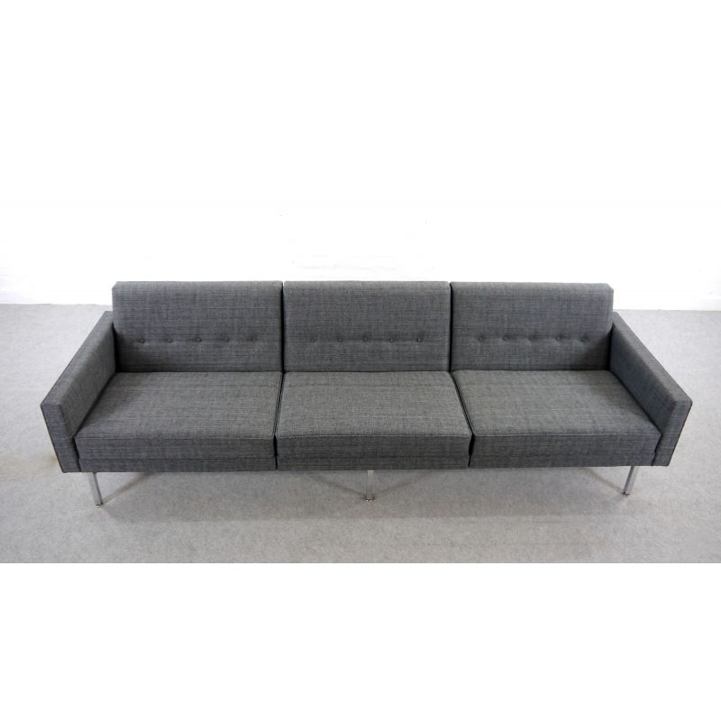 Vintage Modular 3 Seater Sofa By George Nelson For Herman Miller