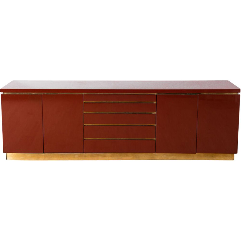 Vintage sideboard by Jean-Claude Mahey