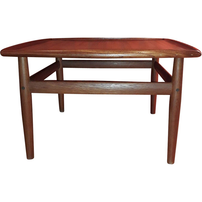 Vintage coffee table by Grete Jalk