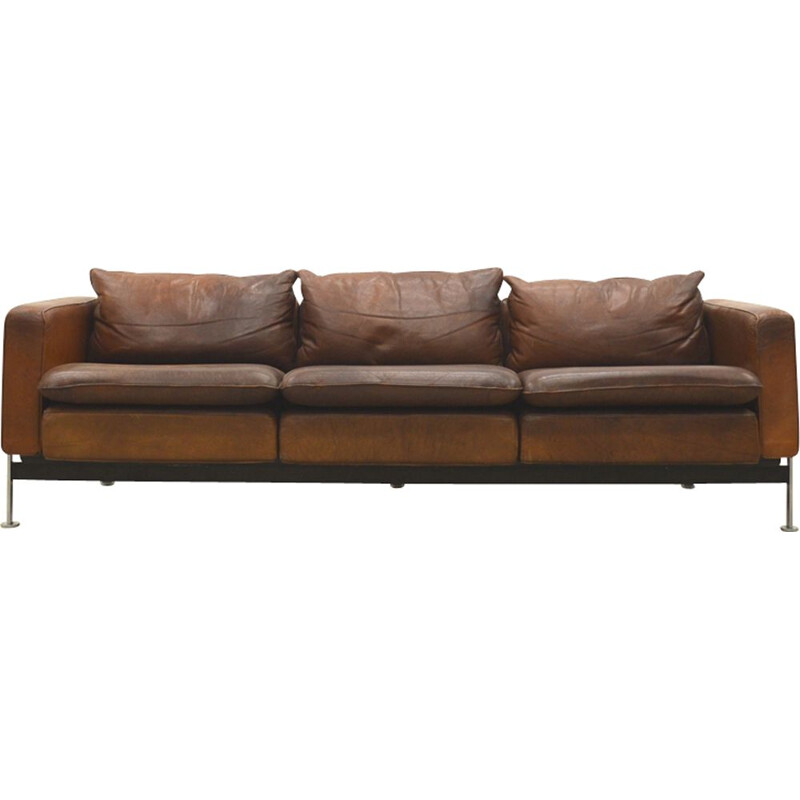 Vintage 3-seater sofa RH 302 by Hans Kaufeld for Robert Haussman