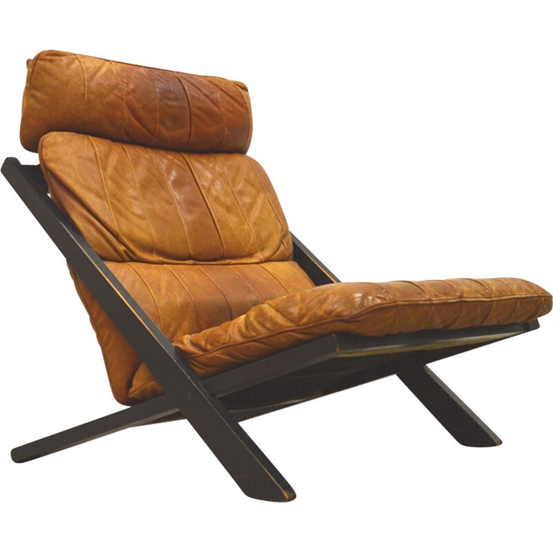 Vintage lounge chair DS80 by Ueli Berger for De Sede