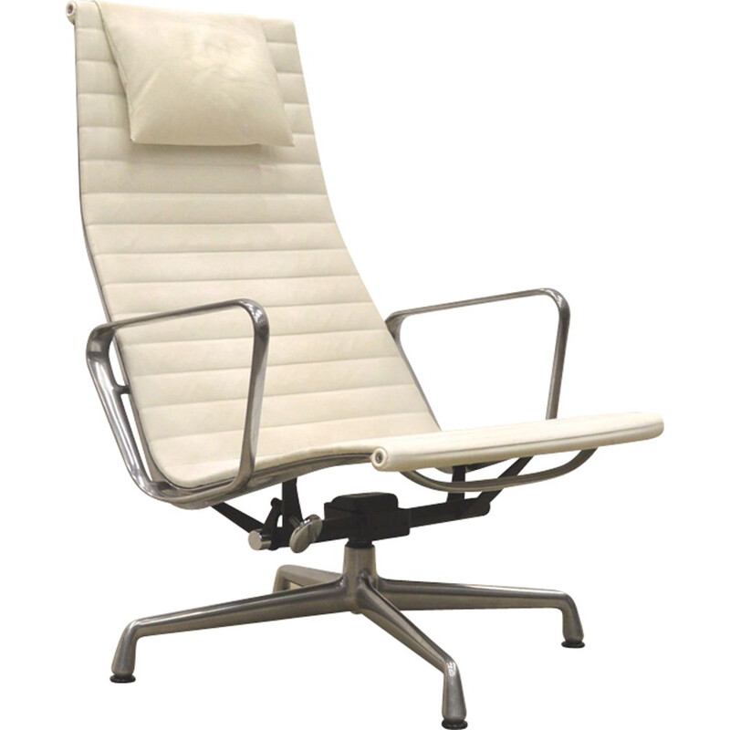 Vintage lounge chair EA 124 by Charles Eames for Vitra