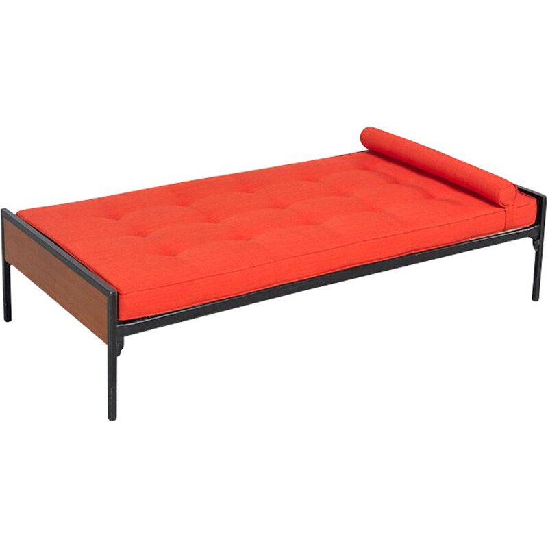 Vintage orange daybed by Cees Braakman