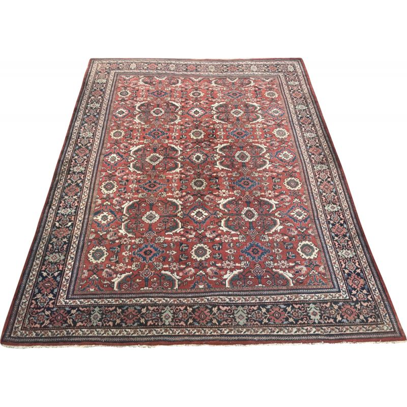 Large vintage Persian carpet in wool