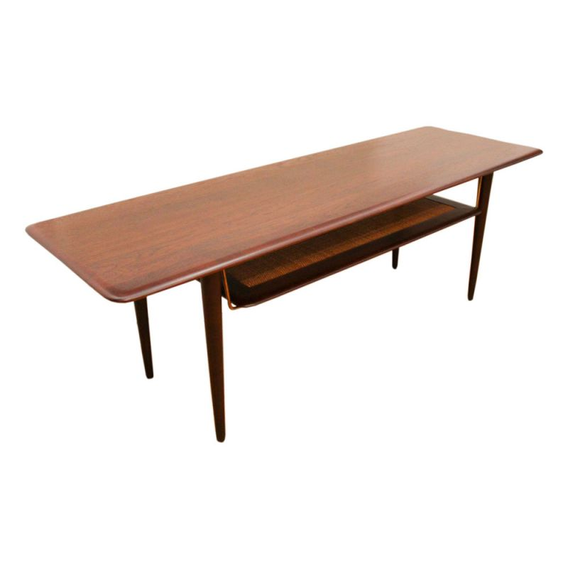 Orla Retro Coffee Table: Vintage Minerva Coffee Table By Peter Hvidt And Orla