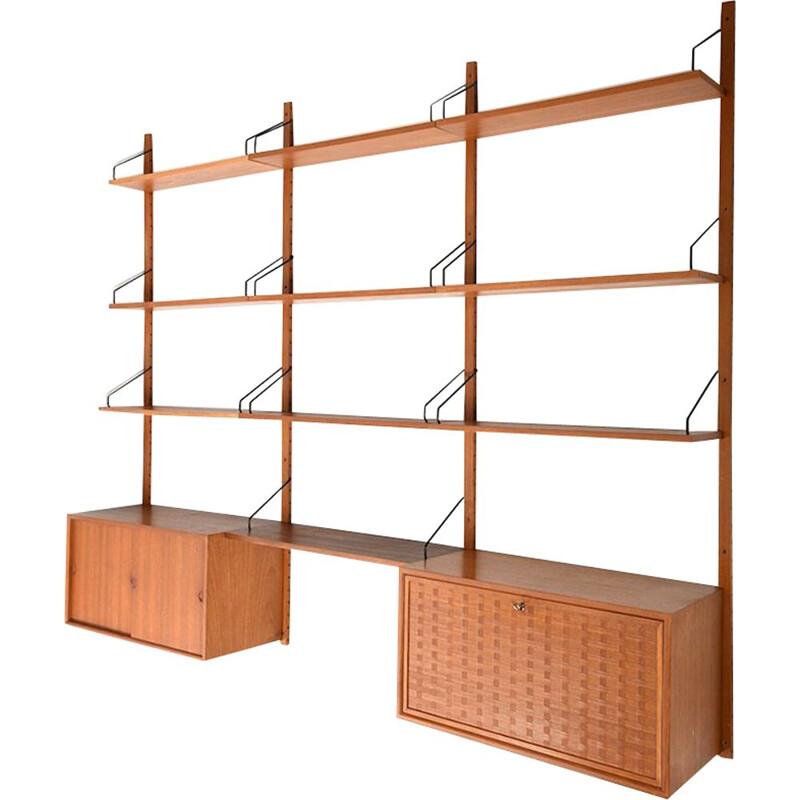 Vintage Royal system in teak by Poul Cadovius