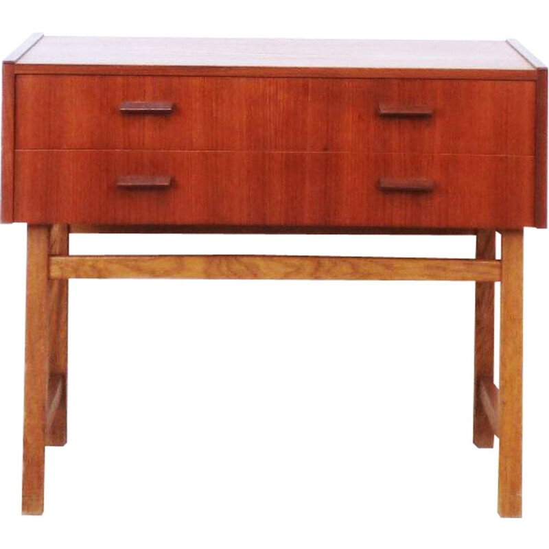 Vintage Swedish console in teak