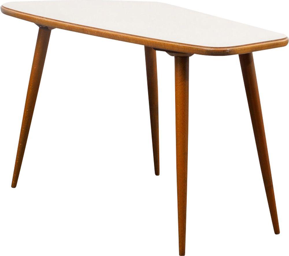 Vintage German Kidney Shaped Coffee Table Design Market