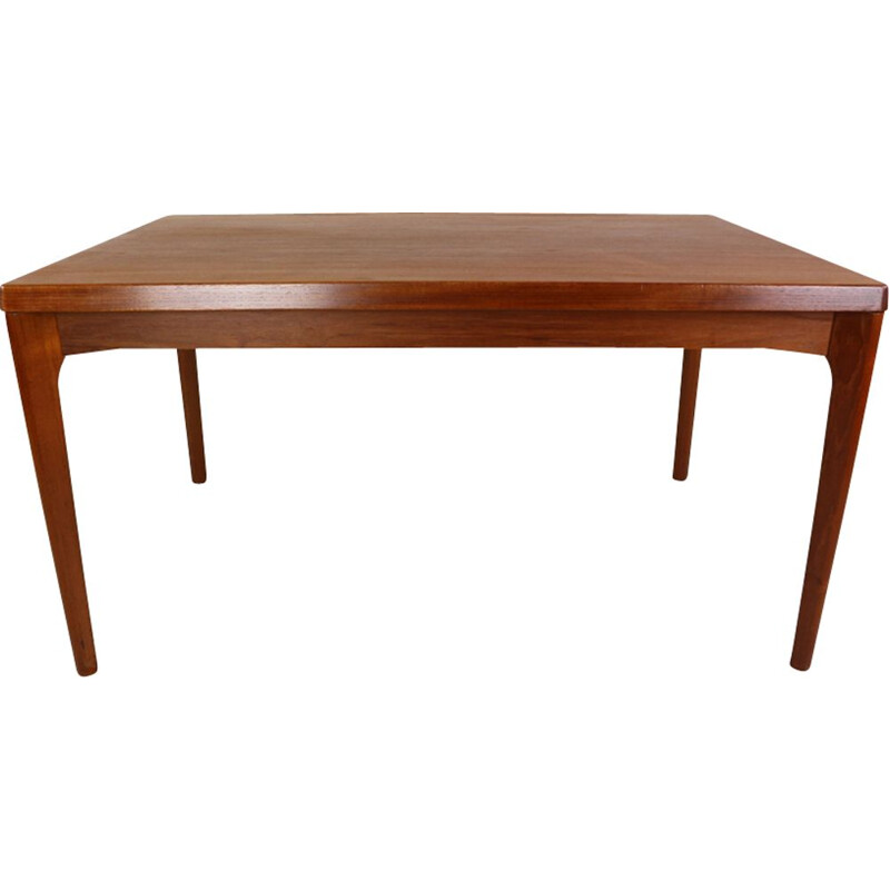 Vintage Danish teak dining table by Henning Kaerjnulf for Vejle Stole