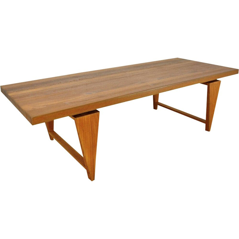 Vintage teak coffee table for AS Mikael Laursen 1960s