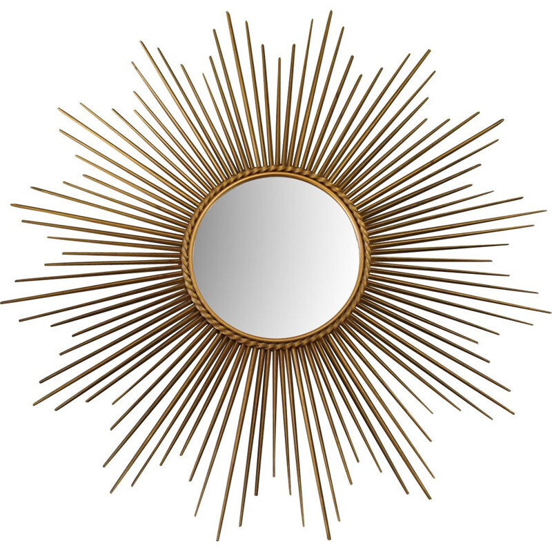 Vintage sun mirror by Chaty Vallauris