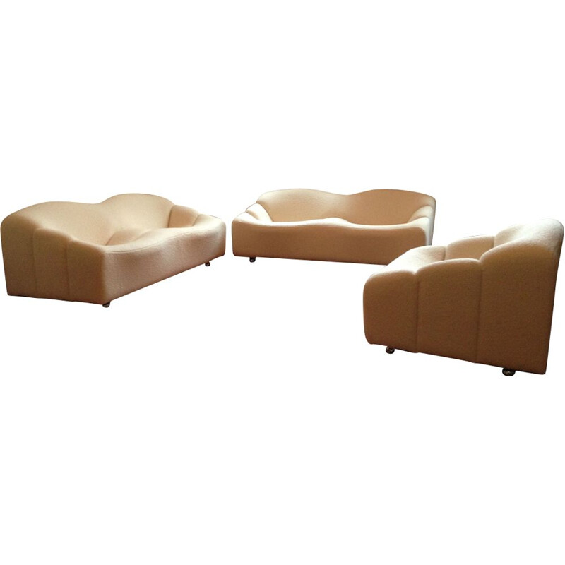 Vintage living room set ABCD by Pierre Paulin for Artifort