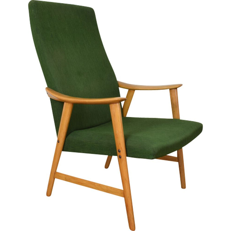 Vintage Norwegian lounge chair from Dokka Møbler