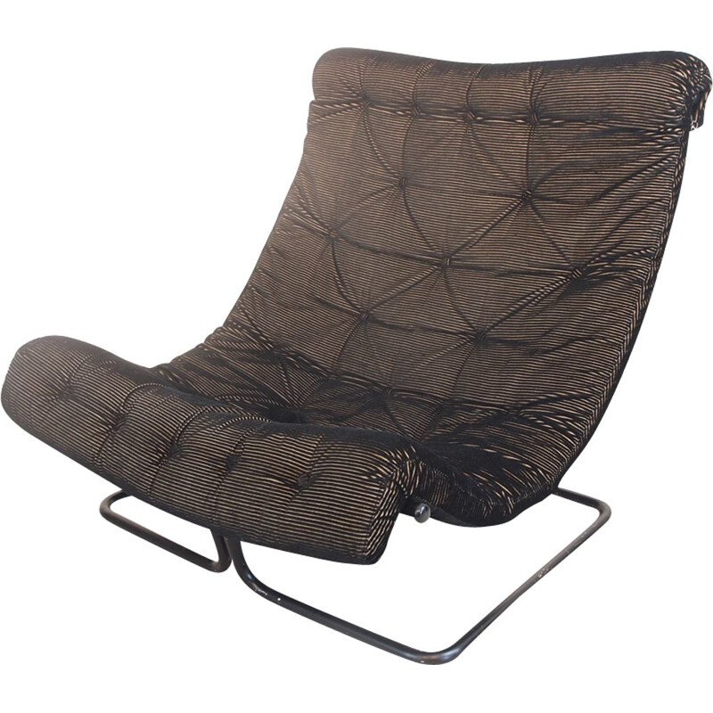Black Formula lounge chair by Ruud Ekstrand & Christer Norman