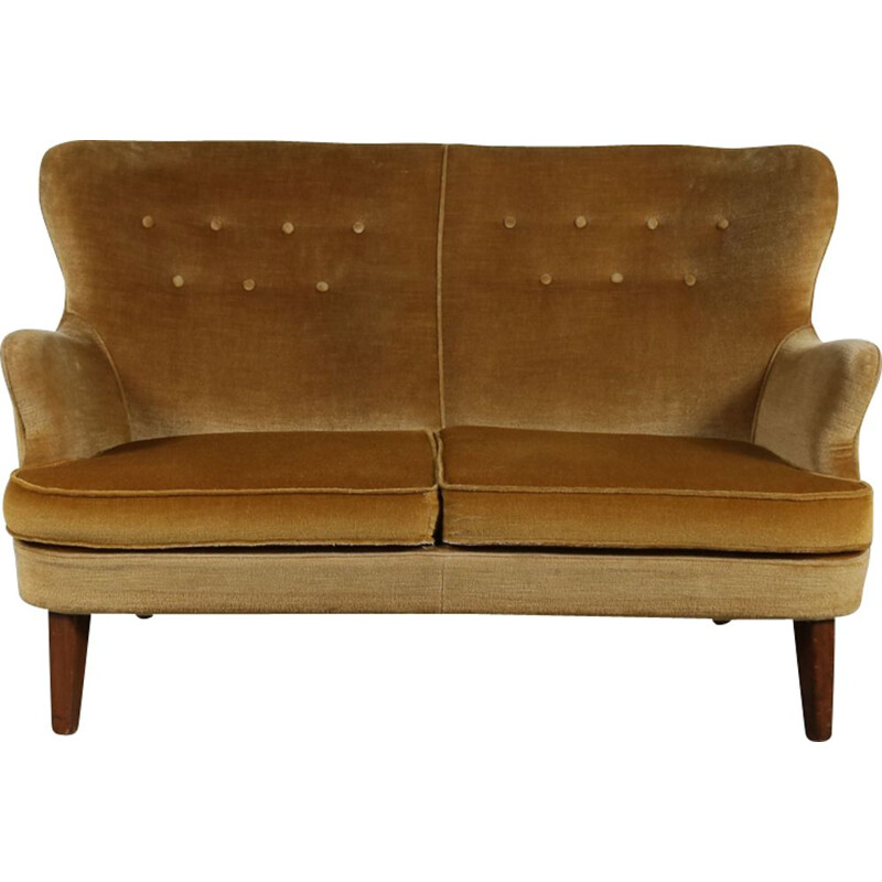 Vintage Dutch 2-seater sofa by Theo Ruth for Artifort