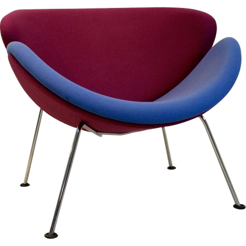 Vintage F437 armchair by Pierre Paulin for Artifort