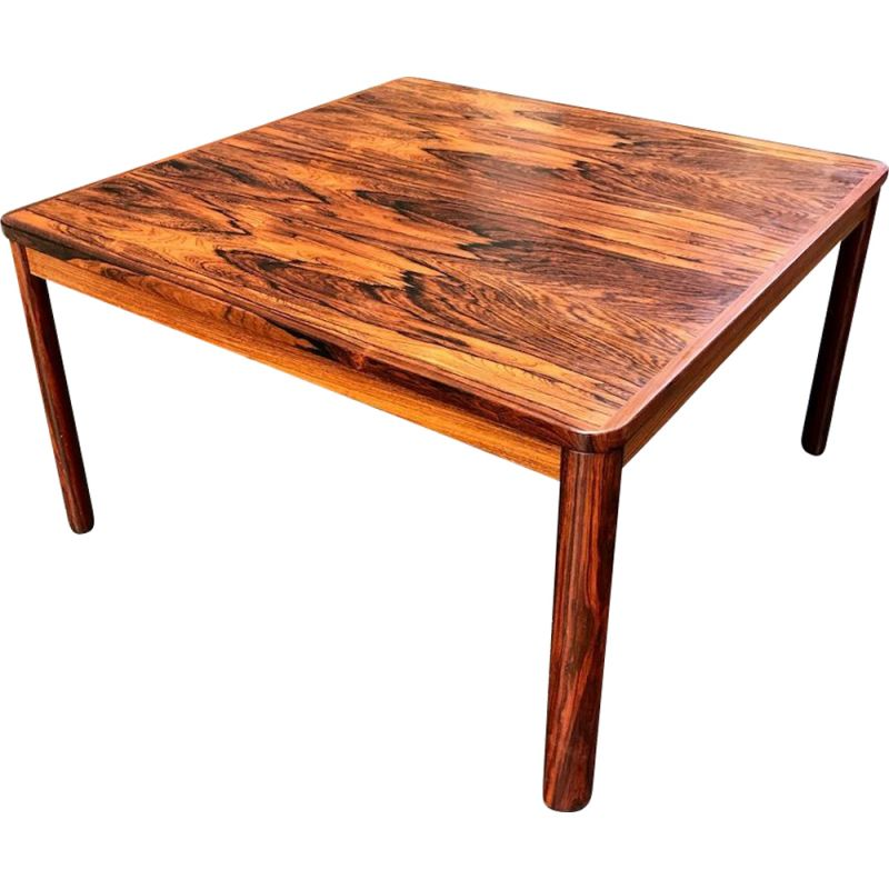 Scandinavian rosewood coffee table