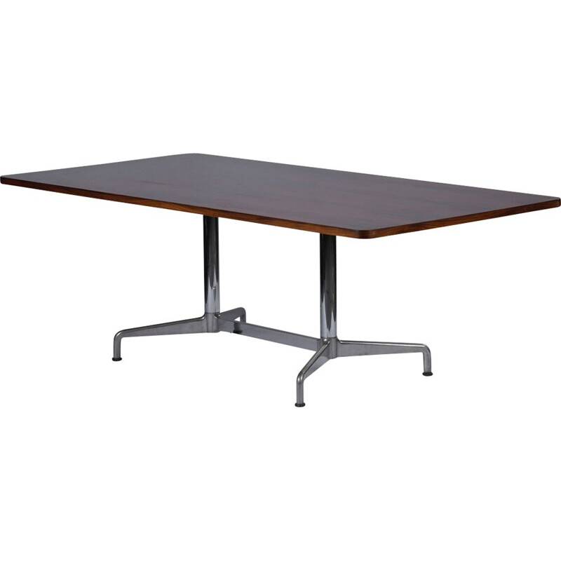 Vintage mahogany table by Eames for Herman Miller