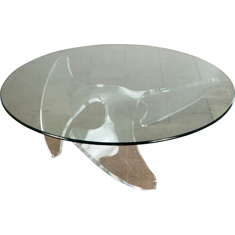 "Vintage coffee table ""Propeller"" by Knut Hesterberg"