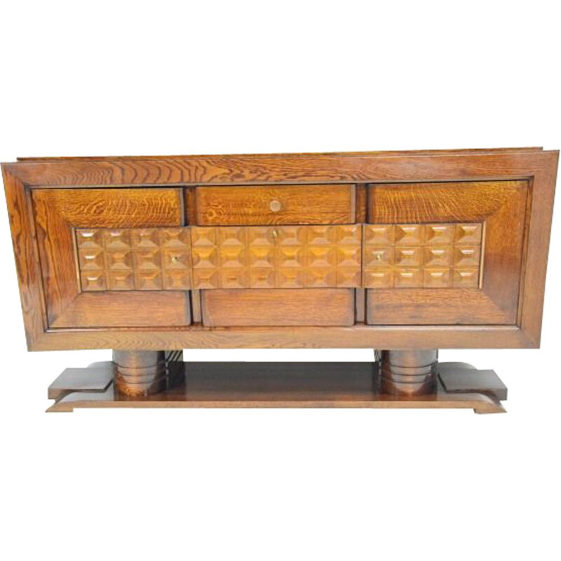 Vintage French sideboard by Charles Dudouyt