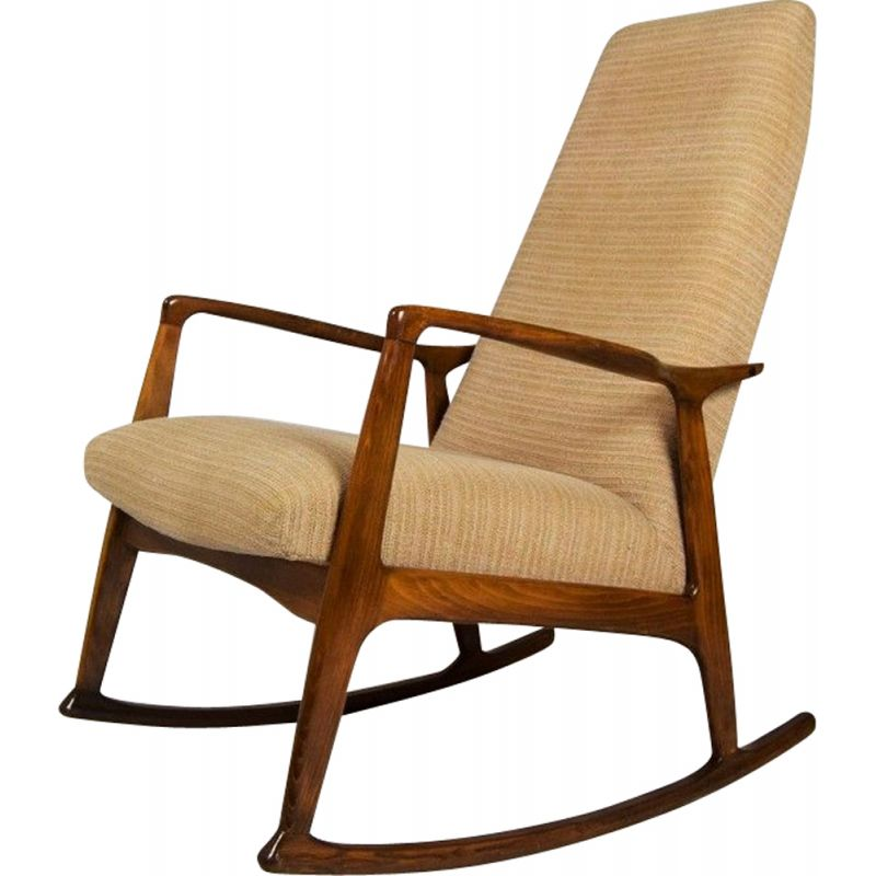 promo code d3760 1e1e3 Vintage Danish rocking chair in beech wood