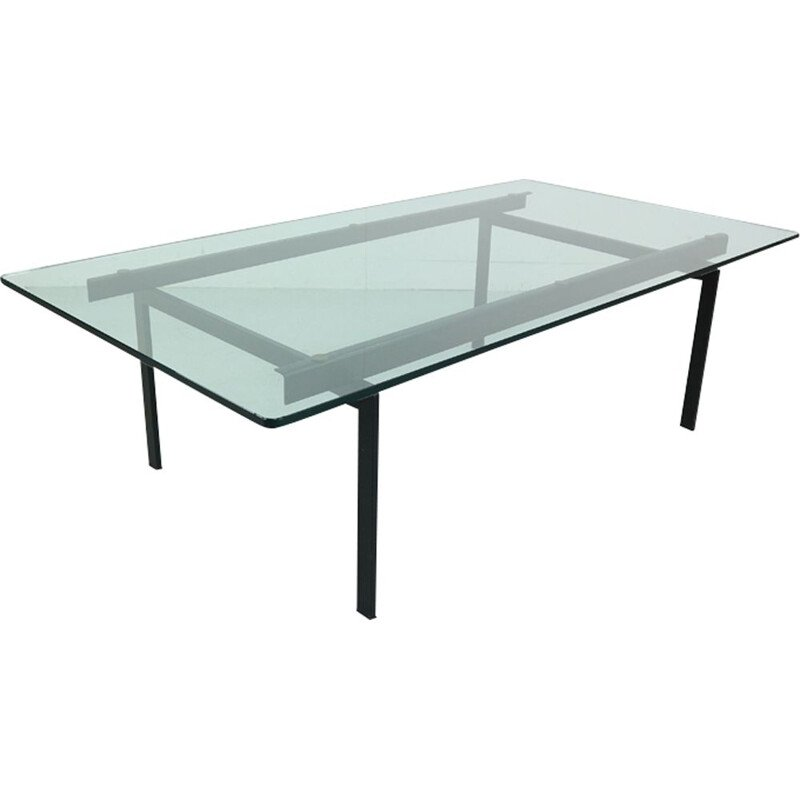 Vintage glass coffee table by Cees Braakman for Pastoe