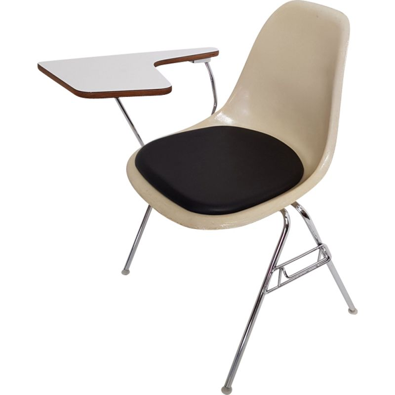 Vintage school chair by Eames for Vitra