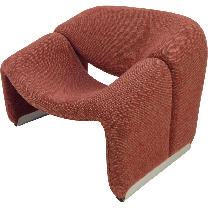F598 Groovy lounge chair by Pierre Paulin for Artifort