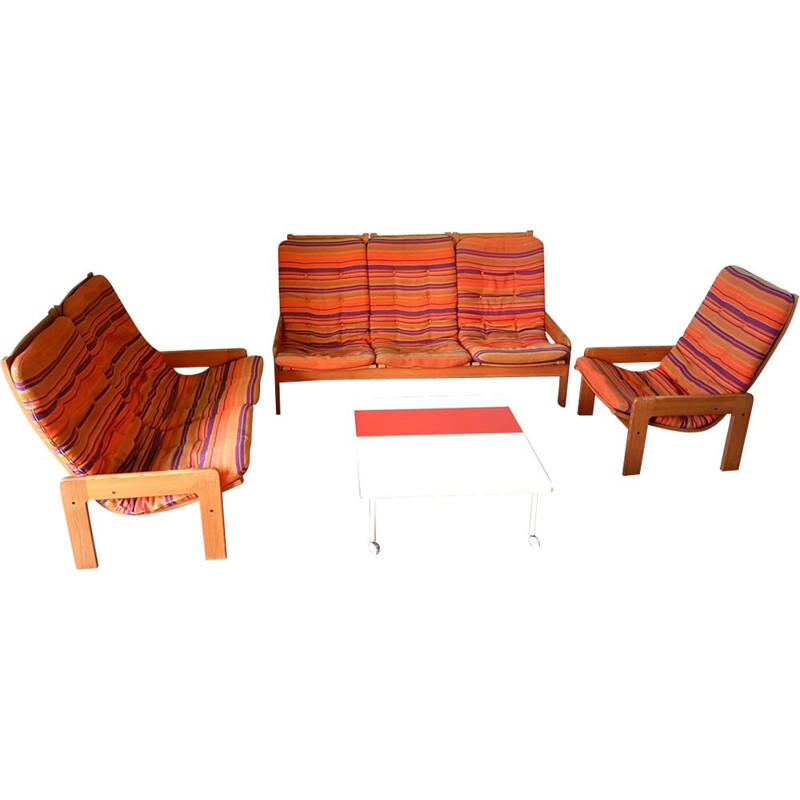 Vintage sofa set by Yngve Ekstrom for Swedese