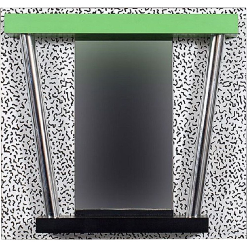 Vintage mirror by Ettore Sottsass