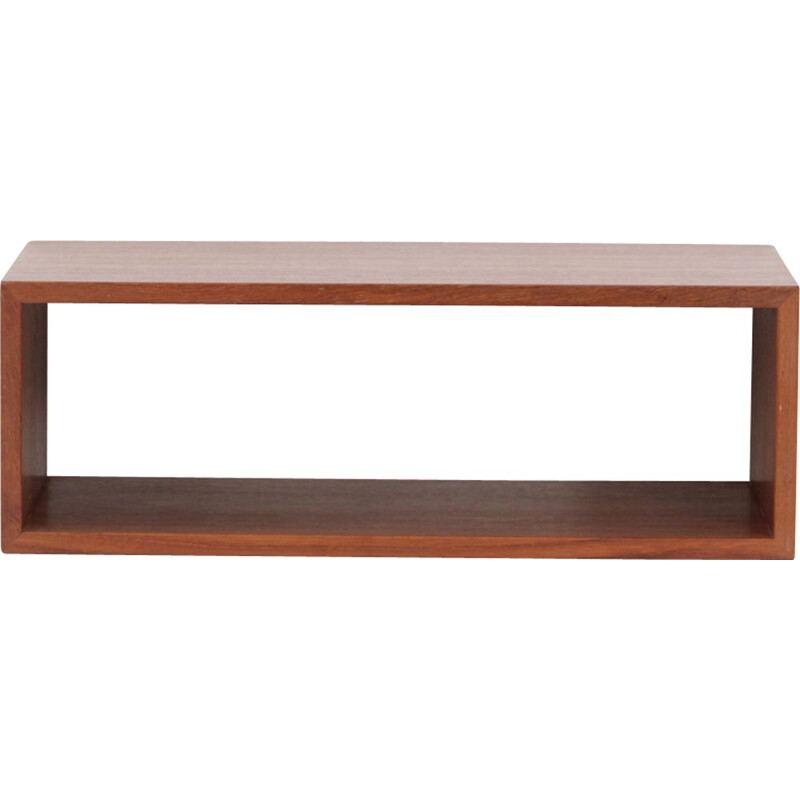Wall shelf in teak by Aksel Kjersgaard